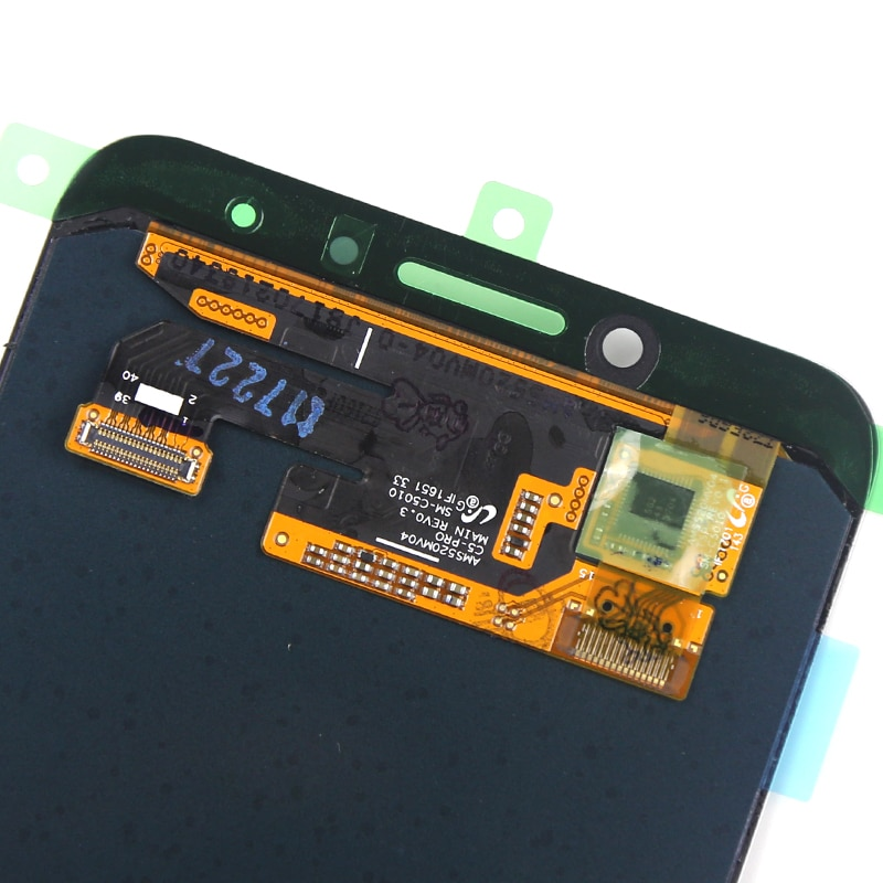 Super AMOLED LCD For Samsung C5 Pro LCD Dispaly With Touch Screen Assembly For Samsung C5 Pro Screen Replacement enlarge