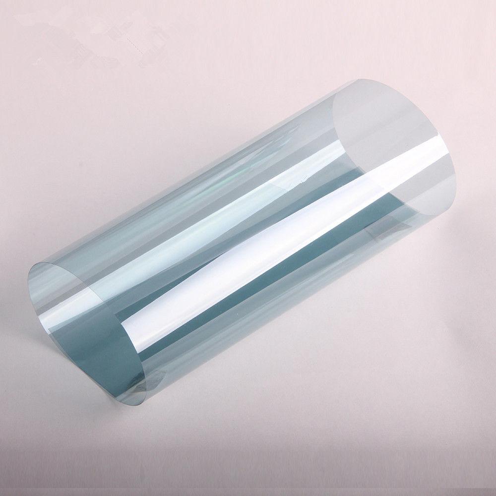 SUNICE Blue Color 75% VLT IR Window Tint Nano Ceramic Solar Film 99% UV Rejection For Home Car Office Building 50cm x 500cm