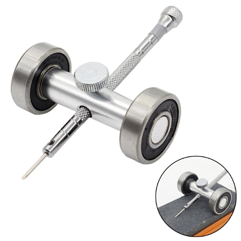 Destornillador para reparación de relojes, afilador de Metal, Guía para afilar, herramientas de reparación de relojes