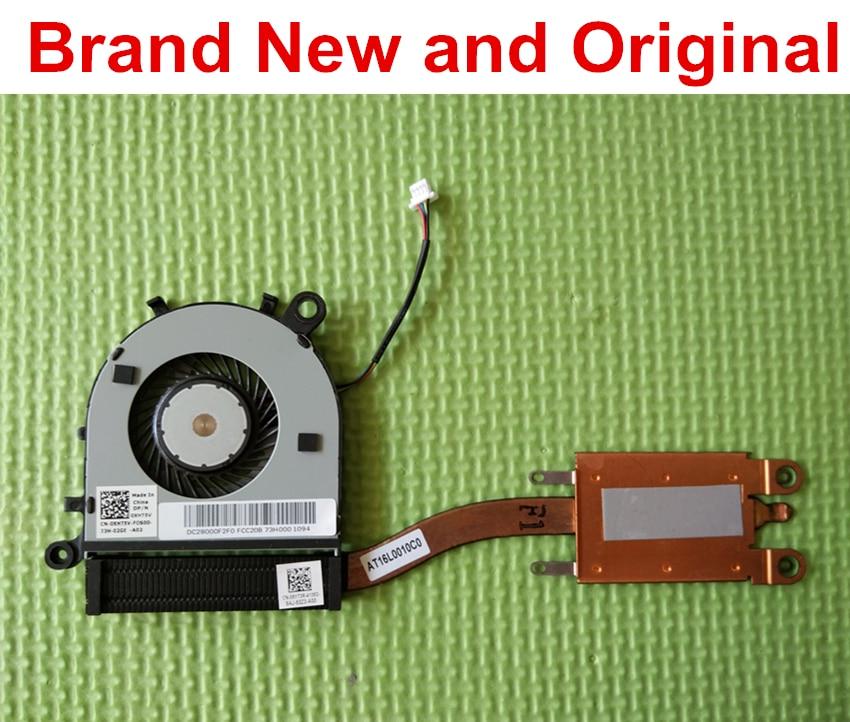 Original nuevo disipador de calor ventilador de refrigeración para Dell XPS13 9343, 9350 de 9360 L321X portátil refrigerador 06YT3R 6YT3R XHT5V 0XHT5V DFS150505000T FFH0