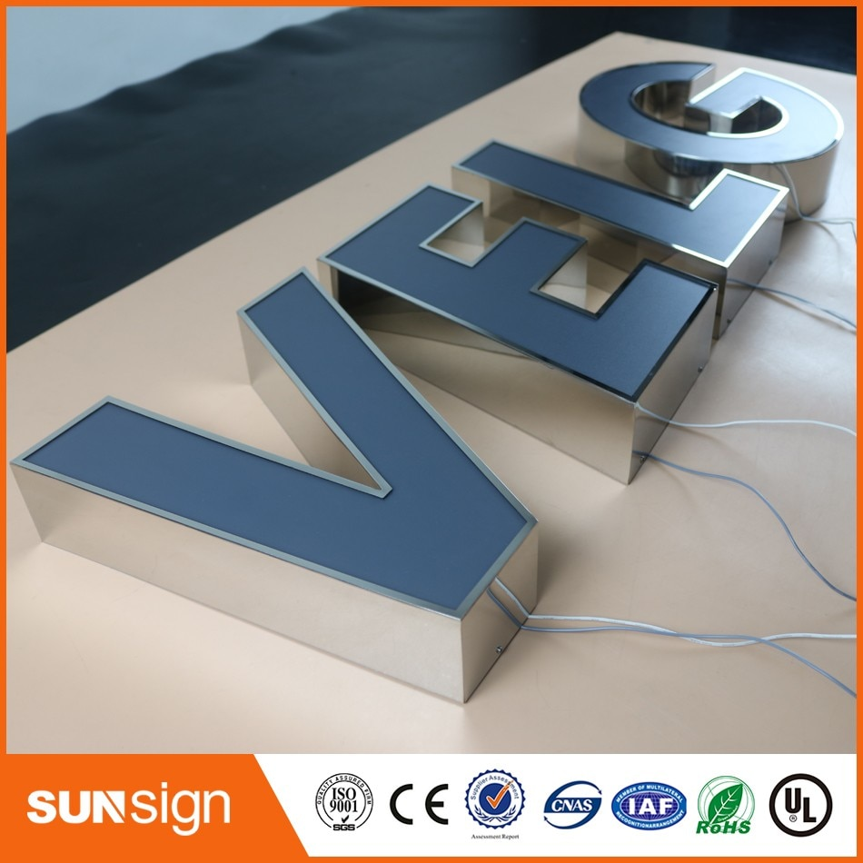 channel letter sign making led advertising illuminated signs недорого