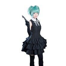 Figure de classe dassassinat danime Shiota Nagisa Kayano Kaede tenue de combat costume de cosplay uniforme ensemble complet avec des gants