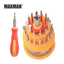 MAXMAN 31 en 1 tournevis multi-fonction combinaison entretien démontage Machine tournevis matériel outil