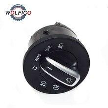 WOLFIGO – interrupteur de phare antibrouillard, pour Volkswagen VW Eos Golf GTI Rabbit SKODA OCTAVIA 1Z0 941 431K