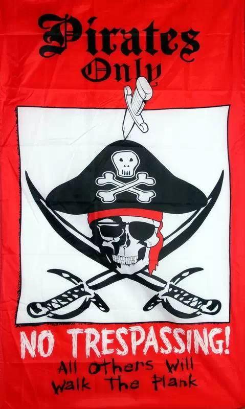 Bandera pirata 3X5 pies calavera personalizada y huesos cruzados Jolly Roger FP9