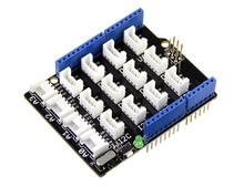 Free Ship 2pcs/lot Base Shield V2 Grove Sensor Expansion Board Compatible for Arduino Grove Sensor Shield