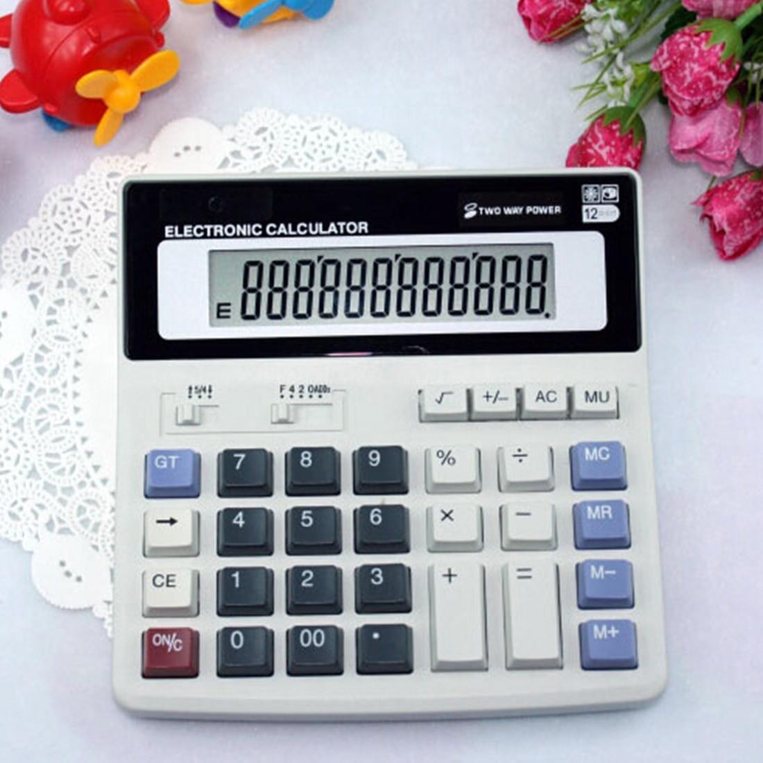 Etmakit хорошая продажа большие кнопки офисный калькулятор большие компьютерные ключи многофункциональный калькулятор батареи компьютера