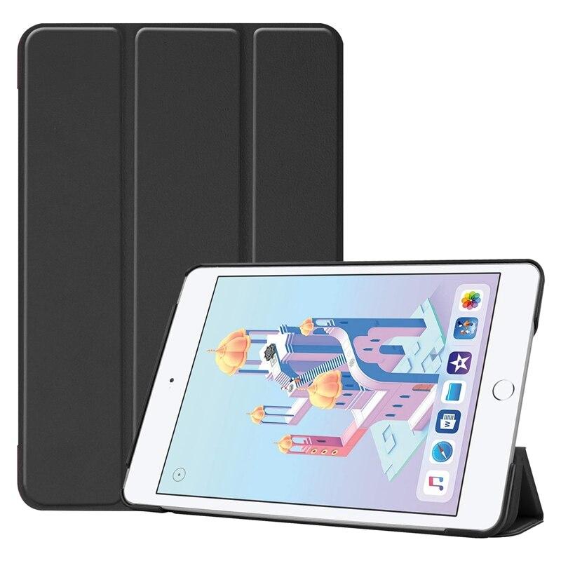 Inteligente da Tampa do Case Shell para Ipad Mini da Apple Livro Virar Mini 5 2021 7.9 Polegada Mini5 A1538 A1550 Tablet 100 Pcs Dhl 4 Mini4