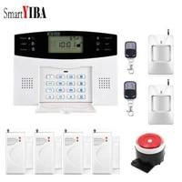 SmartYIBA-detecteur dalarme sans fil   Securite GSM  pour maison intelligente  Buglar  alarme vocale  russe  francais et espagnol  alarme residentielle