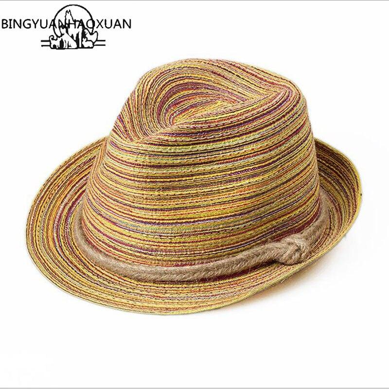 Chapéus de palha praia jazz panamá cape barco chapéu feminino bohemia viagens osso