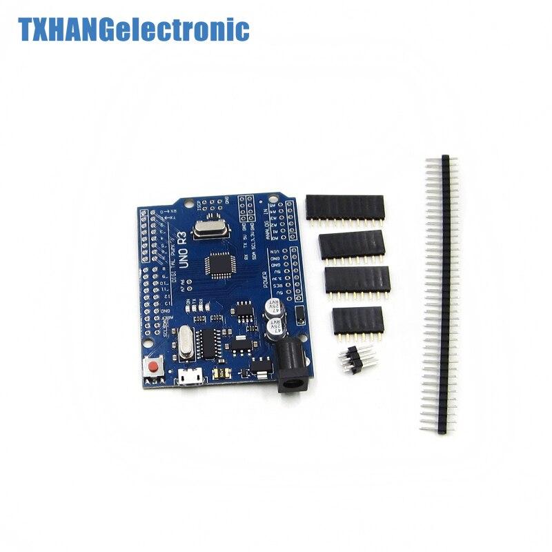 Для Arduino UNO R3 MEGA328P плата с микро USB для з�