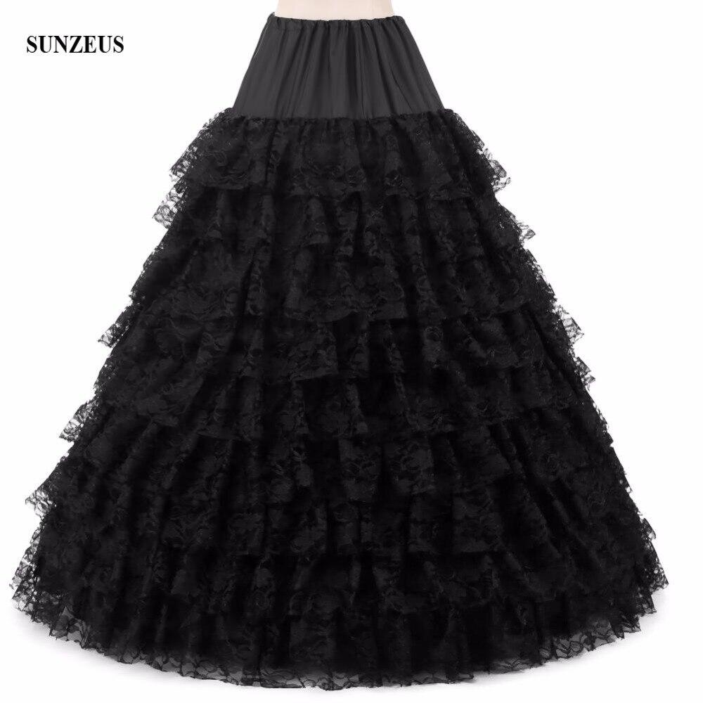 Белое/черное/Розовое Бальное Платье, 6 верхних юбок, 9 слоёв, кружевное нижнее белье, длинное кринолиновое платье бха066