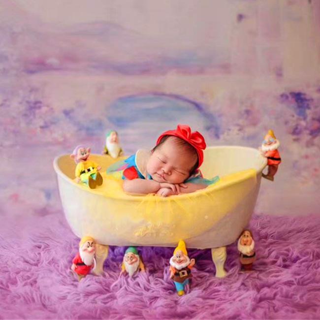 fotografie baby props vintage woven rattan basket newborn photography props basket baby posing sofa bed accessoire bebe photo Baby bathtub  newborn  photography  props  infant  photo shooting props sofa posing shower basket accessories