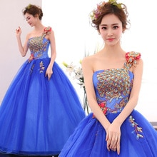 Envío Gratis Azul Púrpura/naranja/pavo real azul rebordear vestido de bola vestido medieval vestido renacentista vestido de Reina Bola de belleza Victoriana