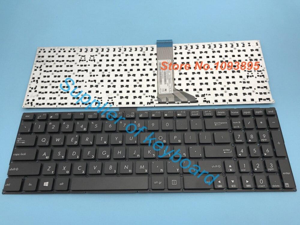 Original hebreo teclado para ASUS X553 X553M X553MA K553M K553MA F553M F553MA A553M A553MA D553M D553MA hebreo teclado