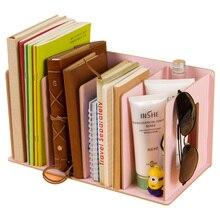 Rangement des livres de Magazines bricolage, en bois, étagères de rangement des livres, étagère de rangement en filet, organisateur de bureau, étagère de rangement des livres