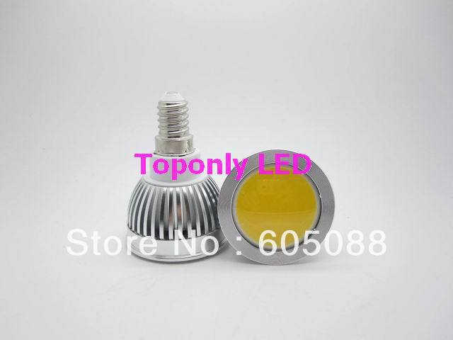 e14 led cob spot lamp bulb 3w white colour 250-280lm 2 year warranty 100pcs/lot factory price promotion DHL/EMS free shipping