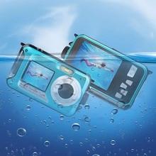Lightdow Dual Screen  2.7 inch TFT Digital Camera HD LCD Screen 16X Digital Zoom 24MP Max Waterproof Diving 3M Digital Camera