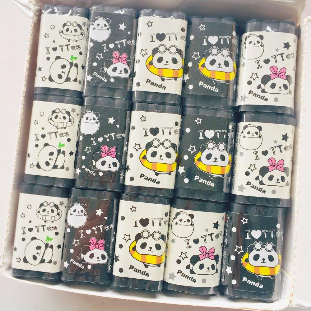 1X mignon Kawaii géant Panda en forme de crayon gomme gommes à effacer Correction étudiant papeterie école bureau approvisionnement enfant cadeau
