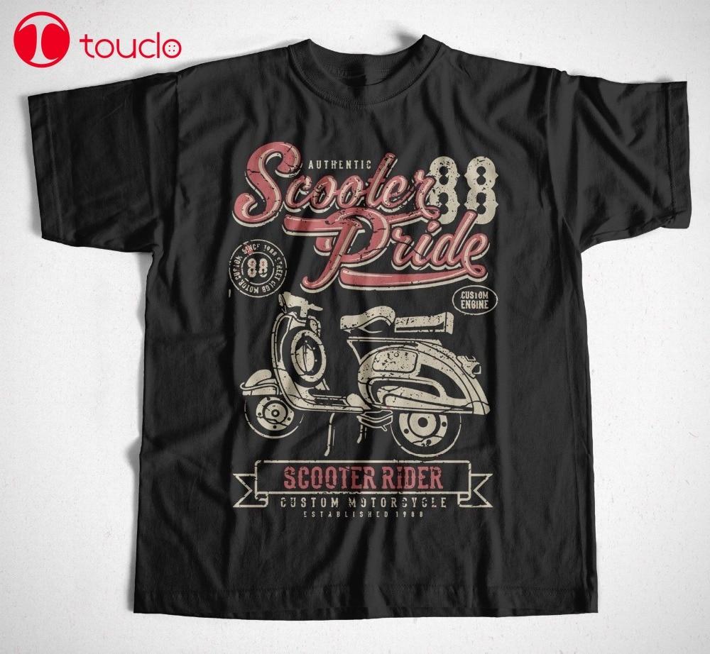 Camiseta Scooter Pride S-4Xl rodillo Wespa Osten Kult RDA Motorroller 2019 moda cuello redondo Camiseta sudaderas con capucha