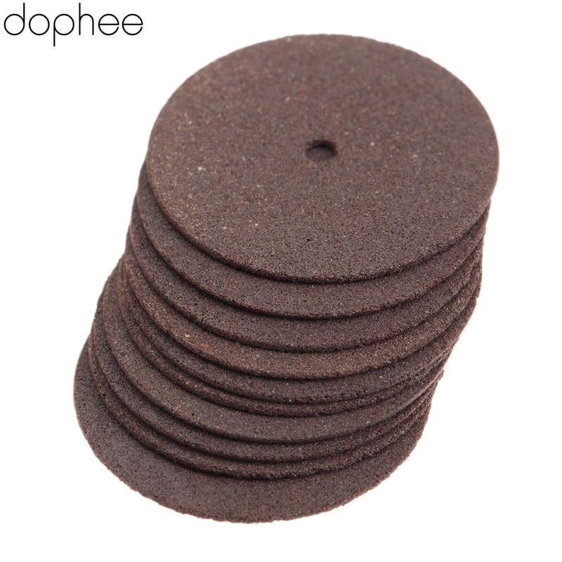 Dophee 36 шт. Аксессуары Dremel 24 мм усиленные отрезные шлифовальные колесные диски режущие инструменты для сверла роторные инструменты