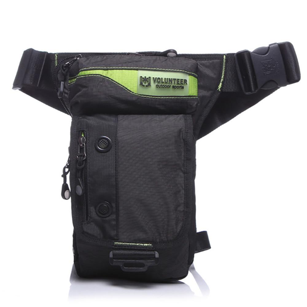 Men Waterproof Oxford Military Drop Leg Fanny Bag Motorcycle Ride Hip Bum Belt Pouch Male Shoulder Messenger Waist Pack Bags