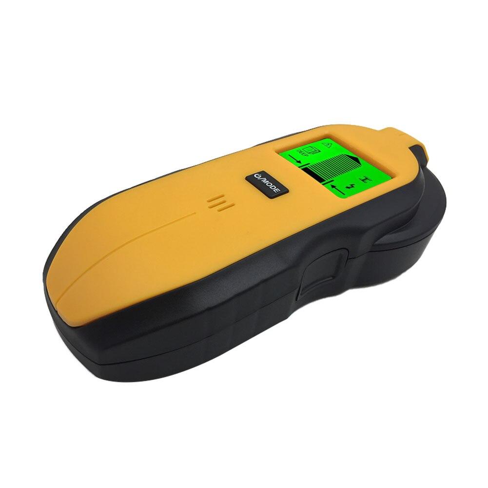 3 en 1 Sensor de batería pantalla LCD Digital buscador de tachuelas Centro de búsqueda de alambre de detección de Metal Pared de viga de madera electrónica