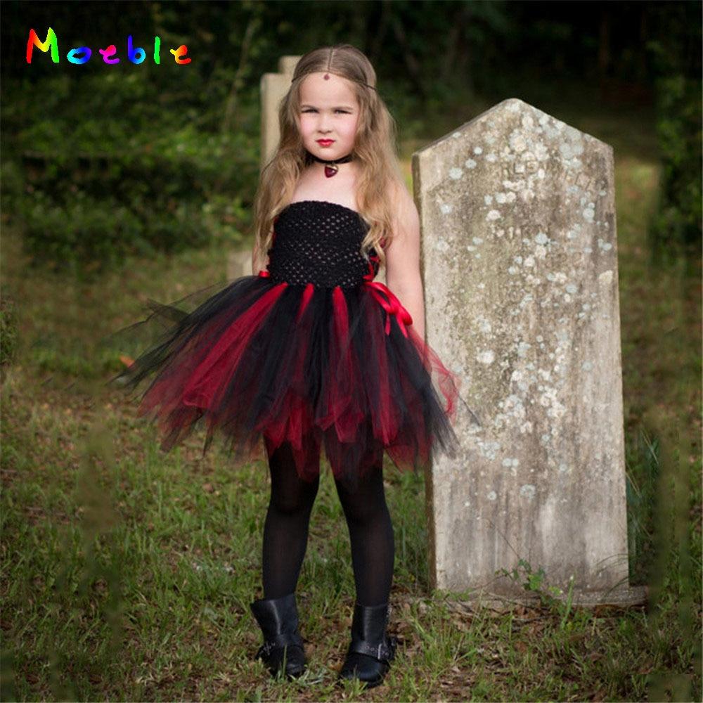 Платье-пачка для девочек на вечеринку, черный, красный цвет, платье-пачка для девочек