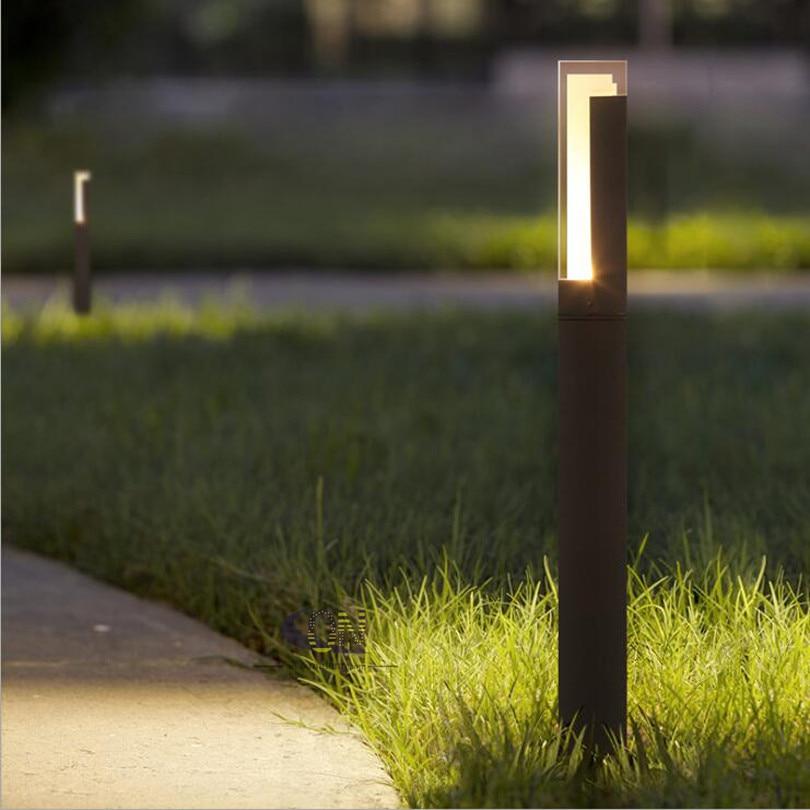 10W 12V DC 85-265V AC LED Landscape Light Outdoor Waterproof Lawn Decoration Yard Christmas Pathway Villa Garden Bollards Lamps