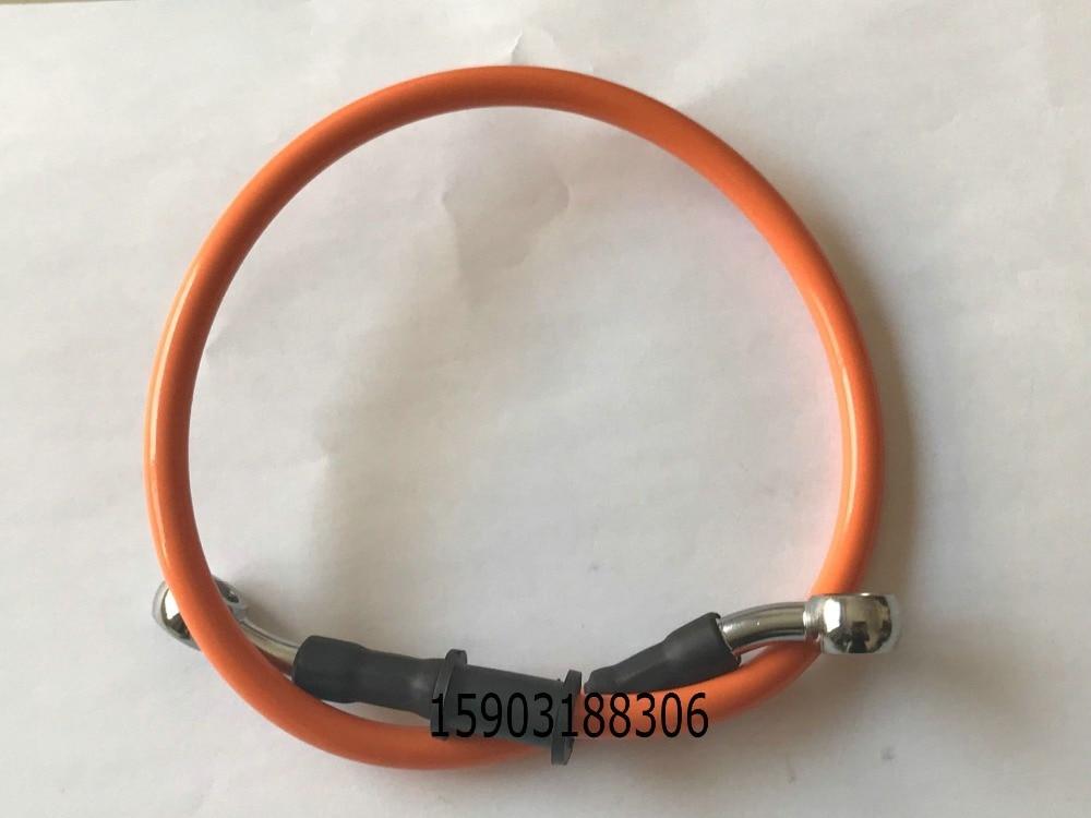 Цветной Масляный шланг для мотоцикла гидравлическая усиленная труба 100 см из