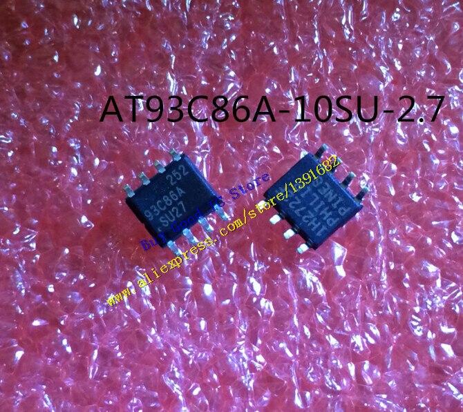 AT93C86A-10SU-2.7 93C86A10SU2 7 93C86A SOP-8 50 unids/lote envío gratis