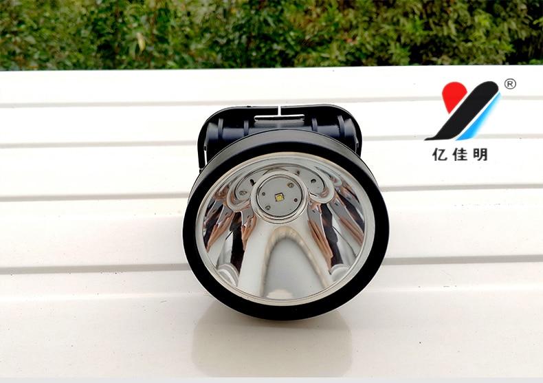YJM-4925B 15 watt 4400 mah LED Bergleute Cordless Kappe Licht/Explosion Proof Lithium-Batterie Bergleute Kopf Lampe/Sicherheit scheinwerfer