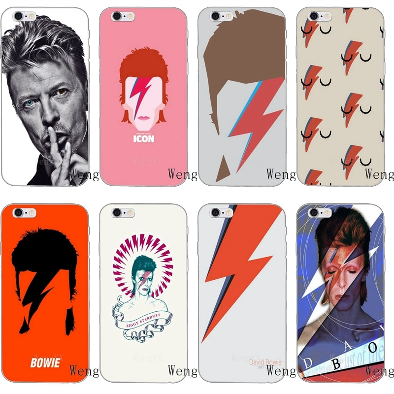 Carcasa blanda art David Bowie Blackstar Starman para Xiaomi Mi A2 6X 8 SE Pro Lite Mix Max 3 Redmi 6 6A S2 Note 6 Pro Pocophone F1