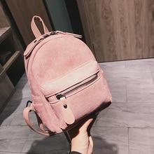 Nouveau concepteur de mode femmes sac à dos Mini doux au toucher multi-fonction petit sac à dos femme dames sac à bandoulière fille sac à main