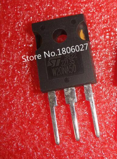 Enviar livre 20 piezas STW20NA50-247 500 V 20A Novo local original vendendo circuitos integrados