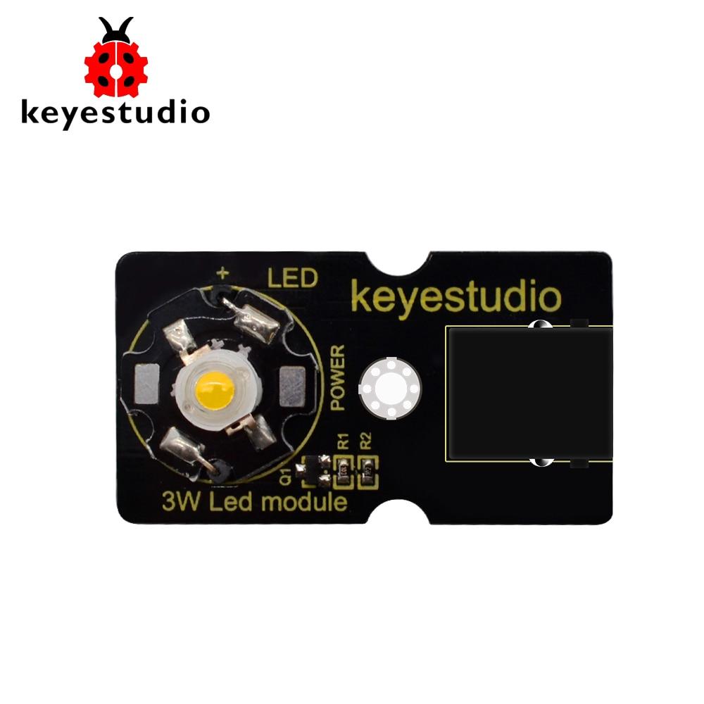 Светодиодный модуль Keyestudio EASY Plug 3W для Arduino