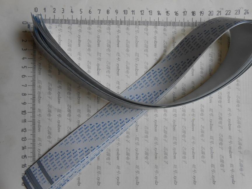 Wzsm frete grátis novo ffc fpc flexível cabo de fita plana 60pin para a frente 500mm comprimento 30.5mm largura 0.5mm passo