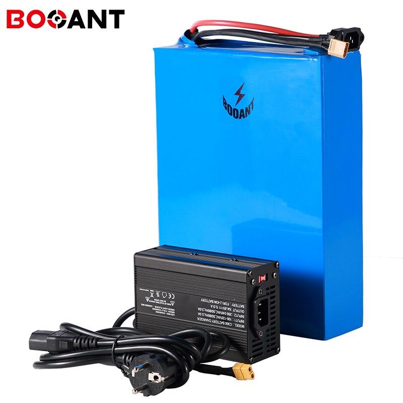48V 46AH LiFePo4 3,2 V batería 26650 1500W 2000W recargable batería de litio de bicicleta eléctrica de 48V + 5A cargador envío gratis