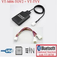 yatour for lexus rx 480 rx 300 rx 330 rx 350 2004 2009 with y cable navi car stereo usb sd mp3 player bluetooth adapter 66 pin
