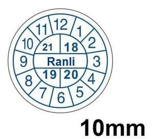 Warranty sticker, fragile sticker void if seal broken, size 10mm
