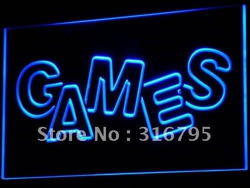 I617, tienda de juegos, pantalla de habitación, nueva luz LED de neón, interruptor de encendido/apagado, 20 + colores, 5 tamaños