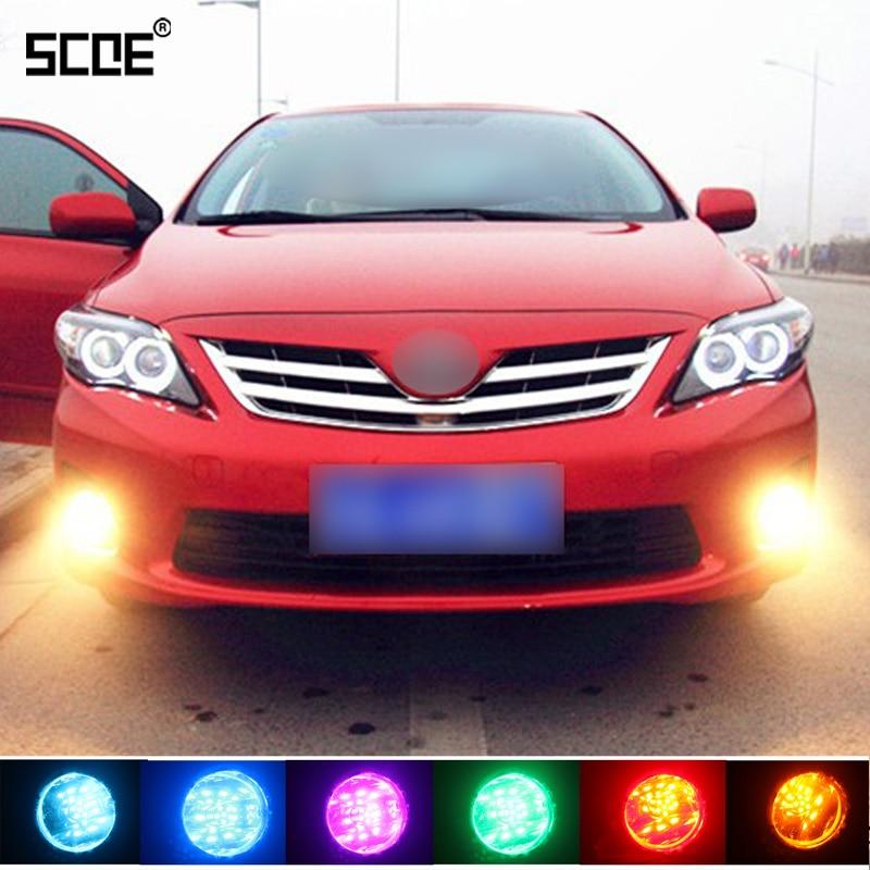 Для Opel Astra J Astra GTC Corsa D SCOE 2015 новая горячая распродажа 2X 30SMD передняя противотуманная лампа накаливания свет источник автомобильный Стайлинг ...