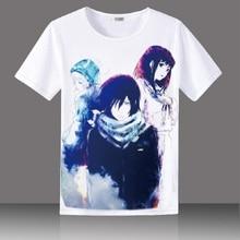 T-Shirt ARAGOTO unisexe motif Anime T-Shirt Yato Iki Hiyori Yukine Nora coton T-shirt style décontracté T petit haut