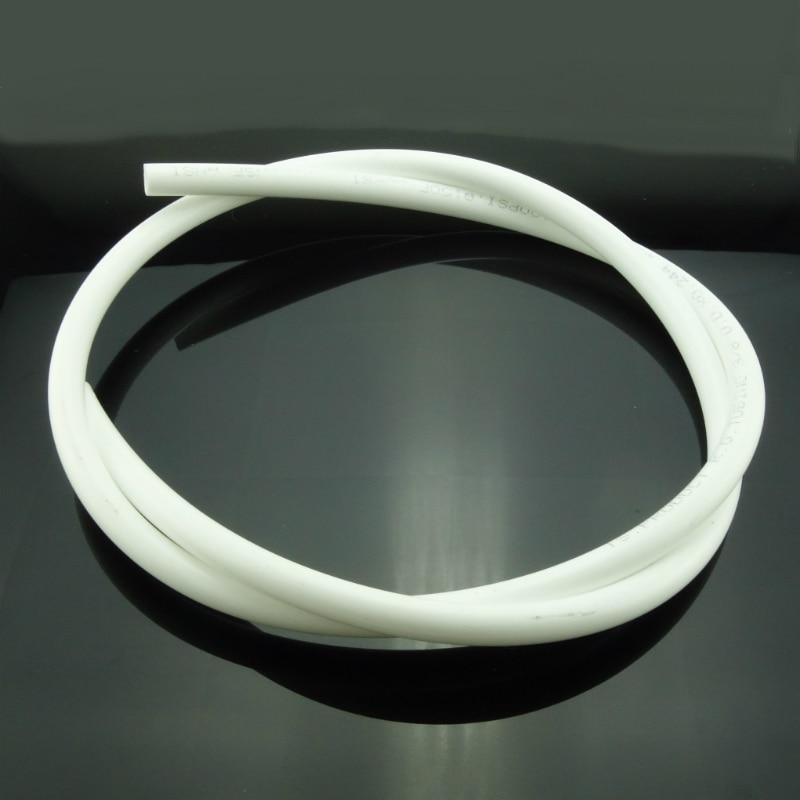 "1 Meter  1/4"" 3/8 Inch OD RO Water PE Hose Tubing White Flexible Pipe Tube For Reverse Osmosis Aquarium Filter System"