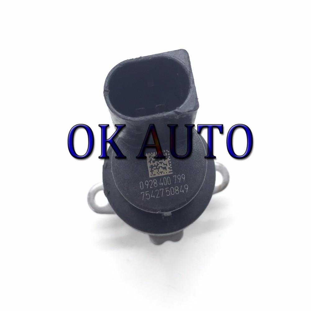 Válvula reguladora de presión de combustible de la válvula de Control de presión de combustible de la bomba Diesel válvula dosificadora 0 928, 400, 799, 0928400799
