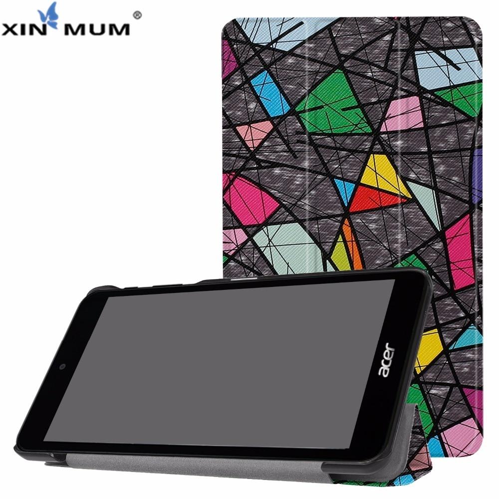 Funda de cuero para Acer Iconia One 7 XIN-MUM Funda para tableta para Iconia One B1-790 7 B1-790 + Pen