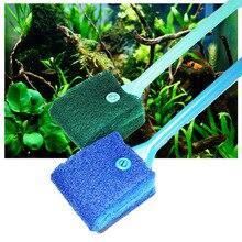 Aquarium Reinigung Pinsel Werkzeug Entfernen Algen Glas Aquarium Schaber Schwamm Reiniger Besten Preis