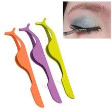 Extensión de pestañas postizas aplicador removedor Clip pinzas herramienta de belleza pestañas postizas individual maquiagem 50 *