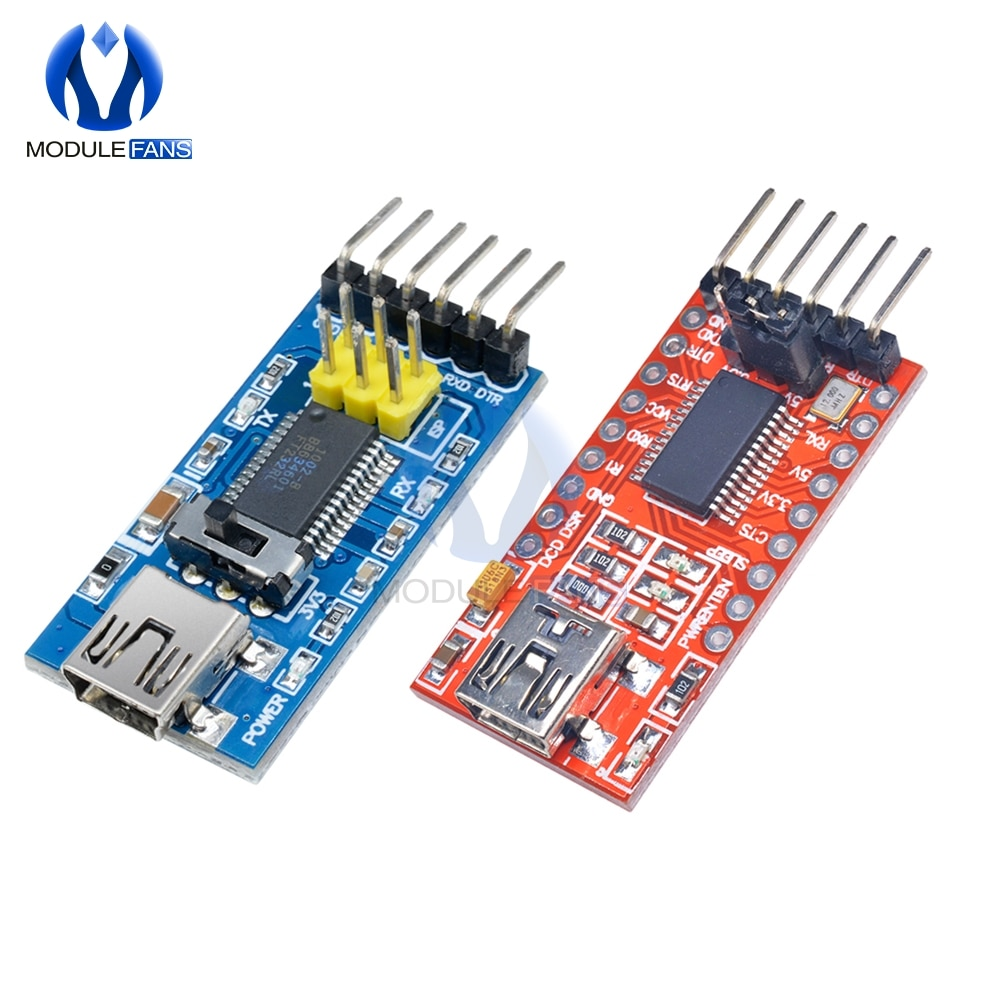 FT232RL FT232 FTDI USB 3.3V 5,5 V zu TTL Serielle Adapter Modul Mini Port Für Arduino Pro ZU 232 Grundlegende programm Downloader