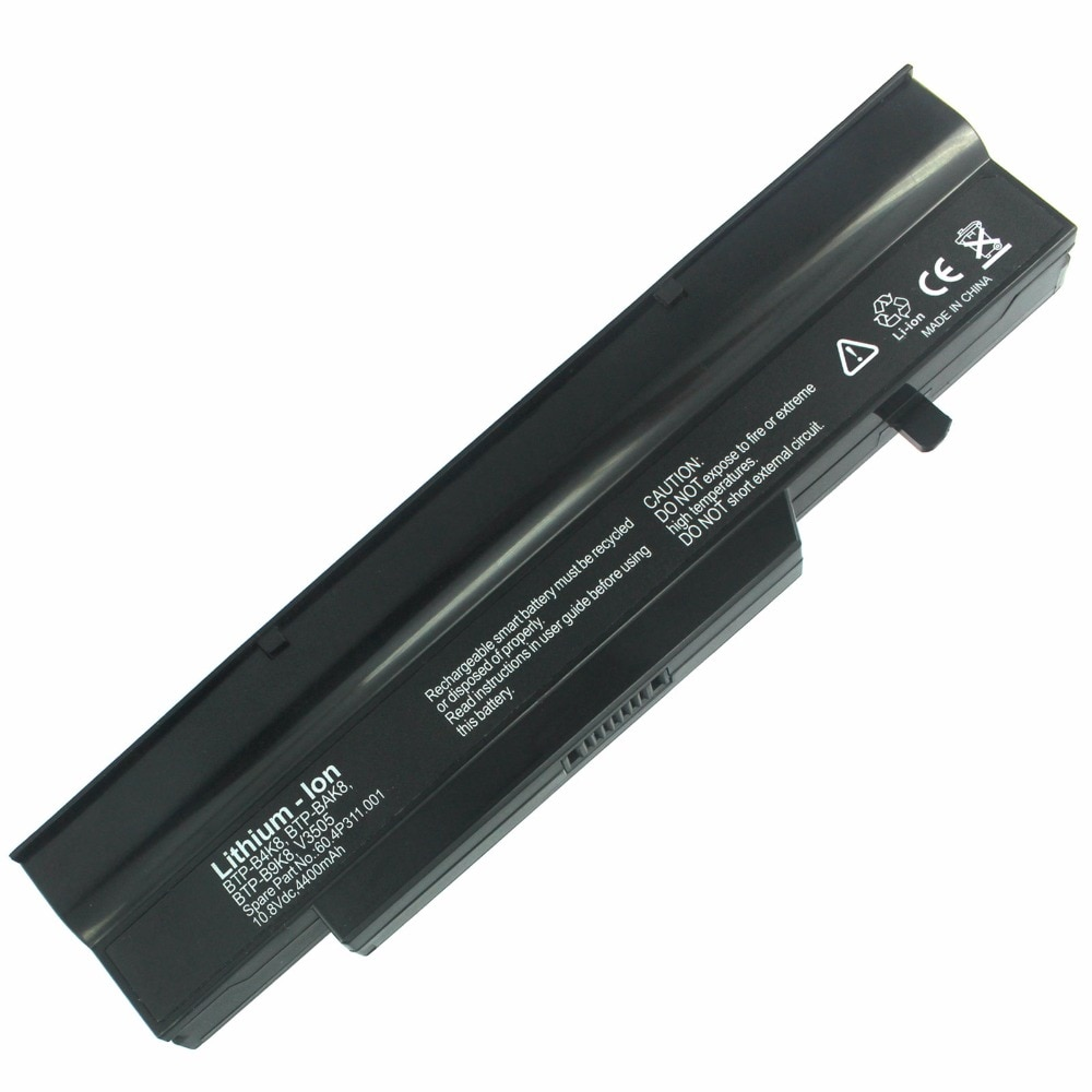 Nueva batería para Fujitsu Esprimo V5505 V5545 V6505 V6535 V6545 V6555 serie 11,1 V 4400 mAh